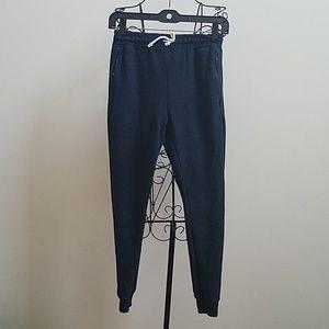 Boy's Zara navy blue jogger pants